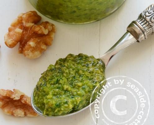 Rezept für Walnuss-Spinat-Pesto