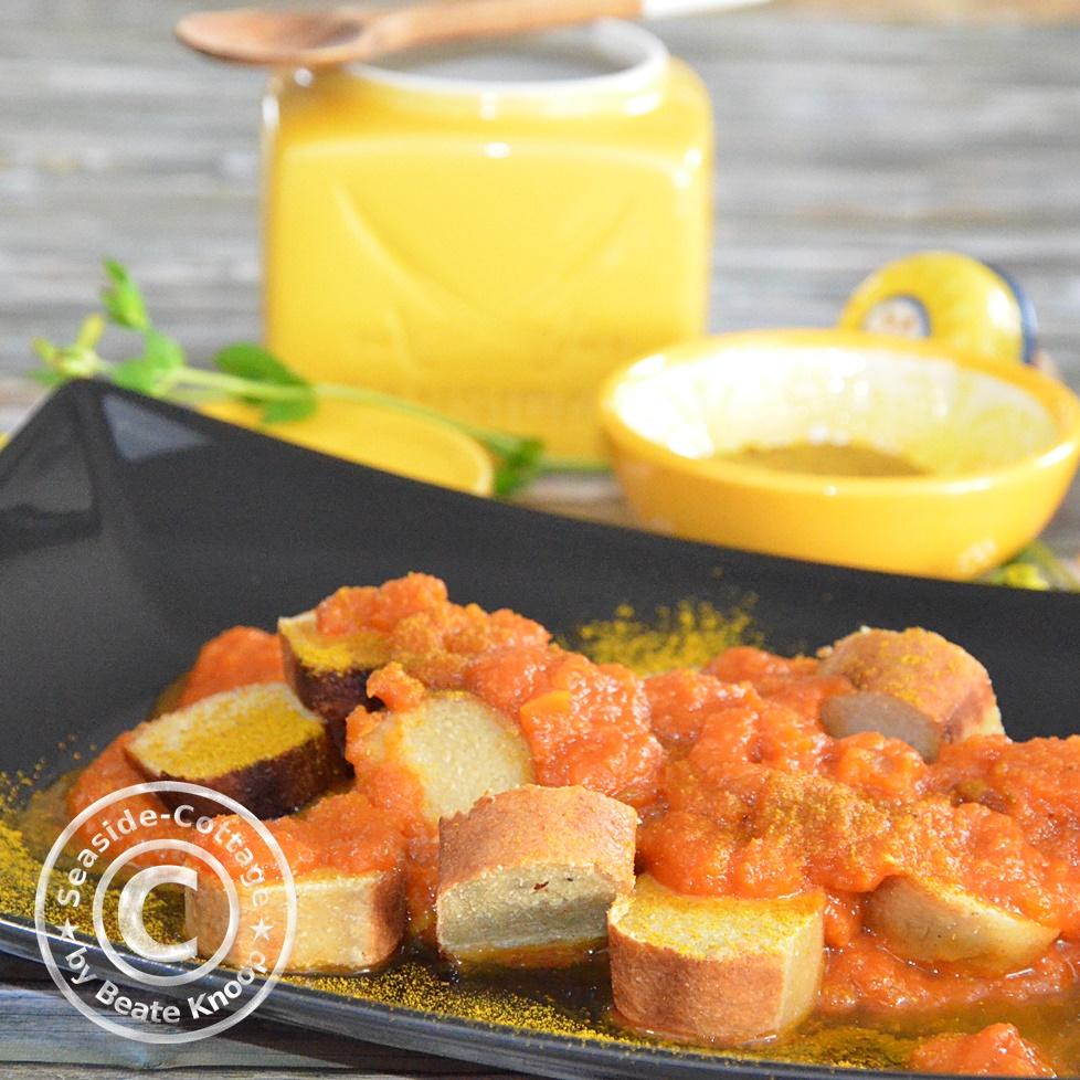 Rezept für vegetarische Currysauce Sansibar