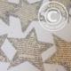 DIY shabby Sterne aus alten Buchseiten