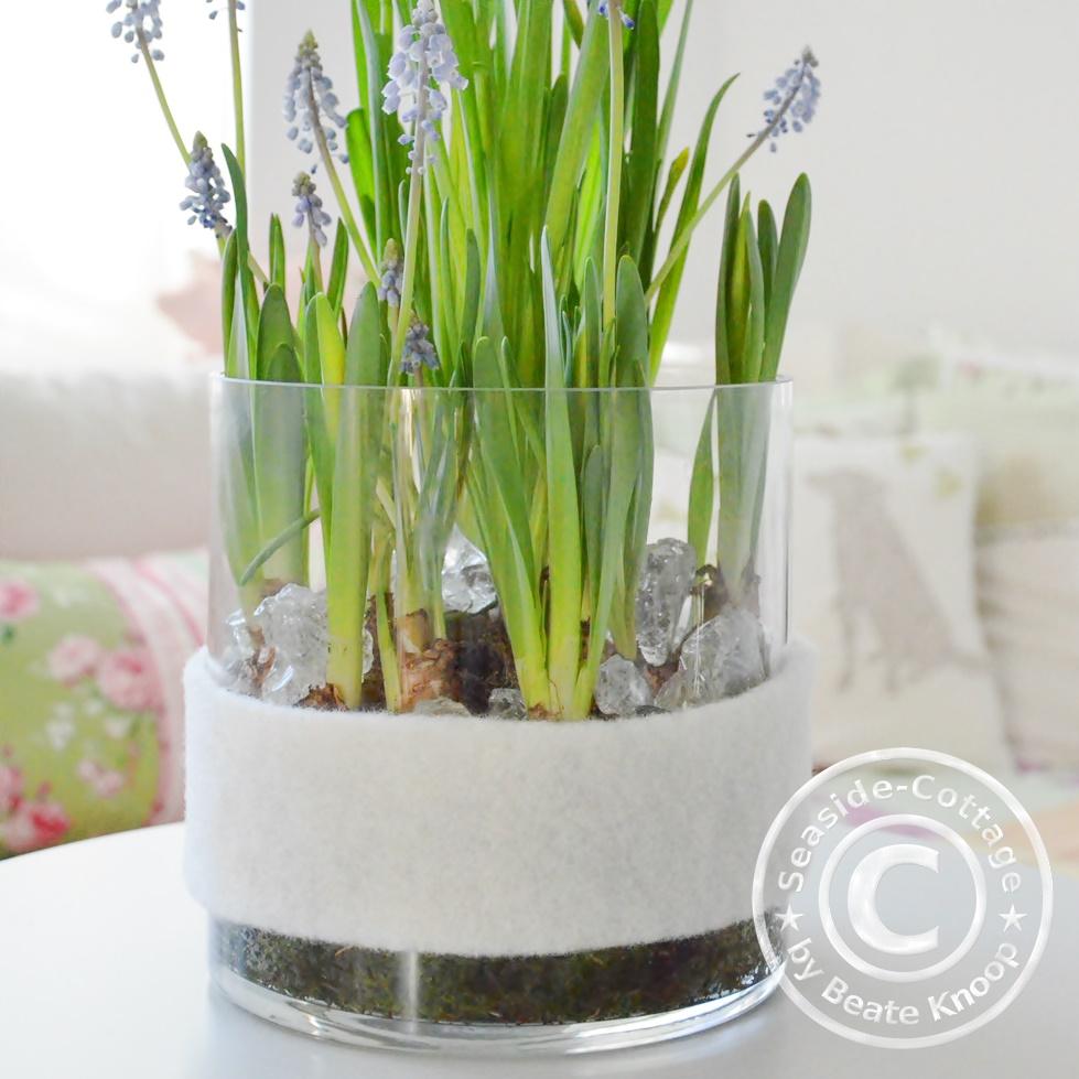 Blumedeko für den Frühling