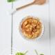 Rezept für Apfelmuffins mit Quark