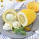 Rezept für Zitroneneis mit Basilikum