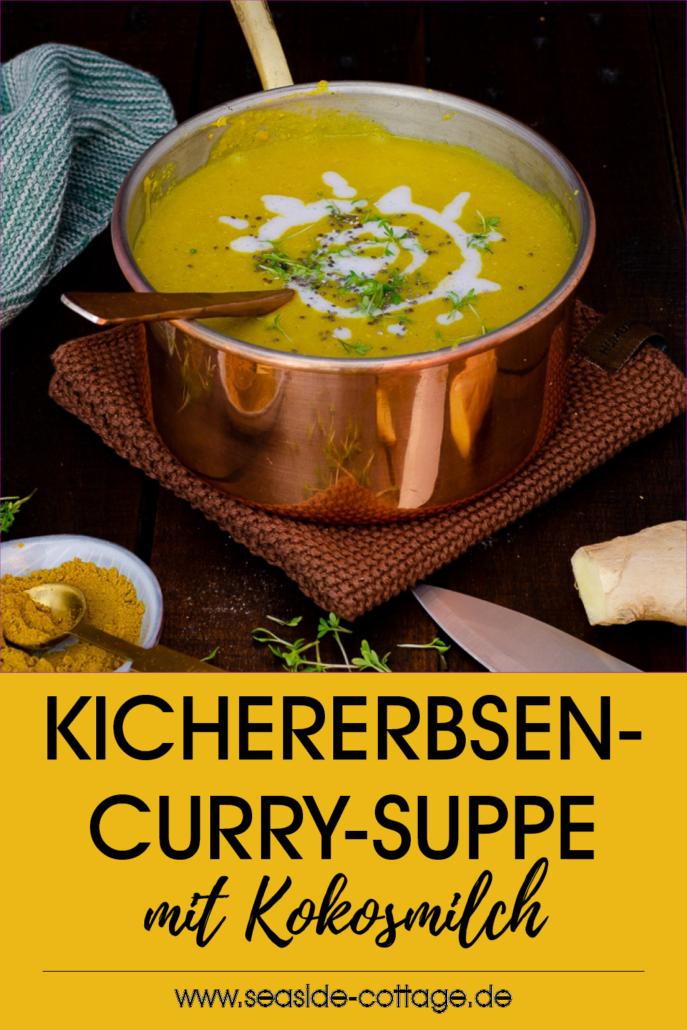 Pinterest Oin Kichererbsensuppe mit Curry und Kokosmilch