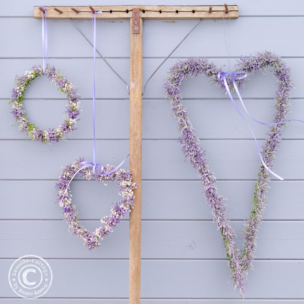romantische Blumendeko zur Hochzeit