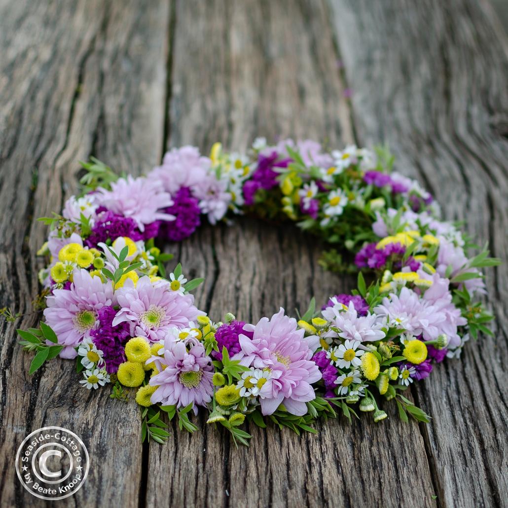 Sommerblumenkranz