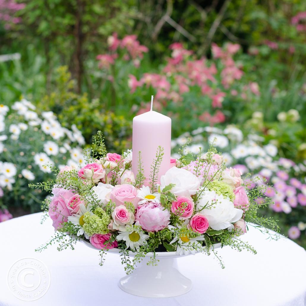 Blumenkranz zum Muttertag selbermachen