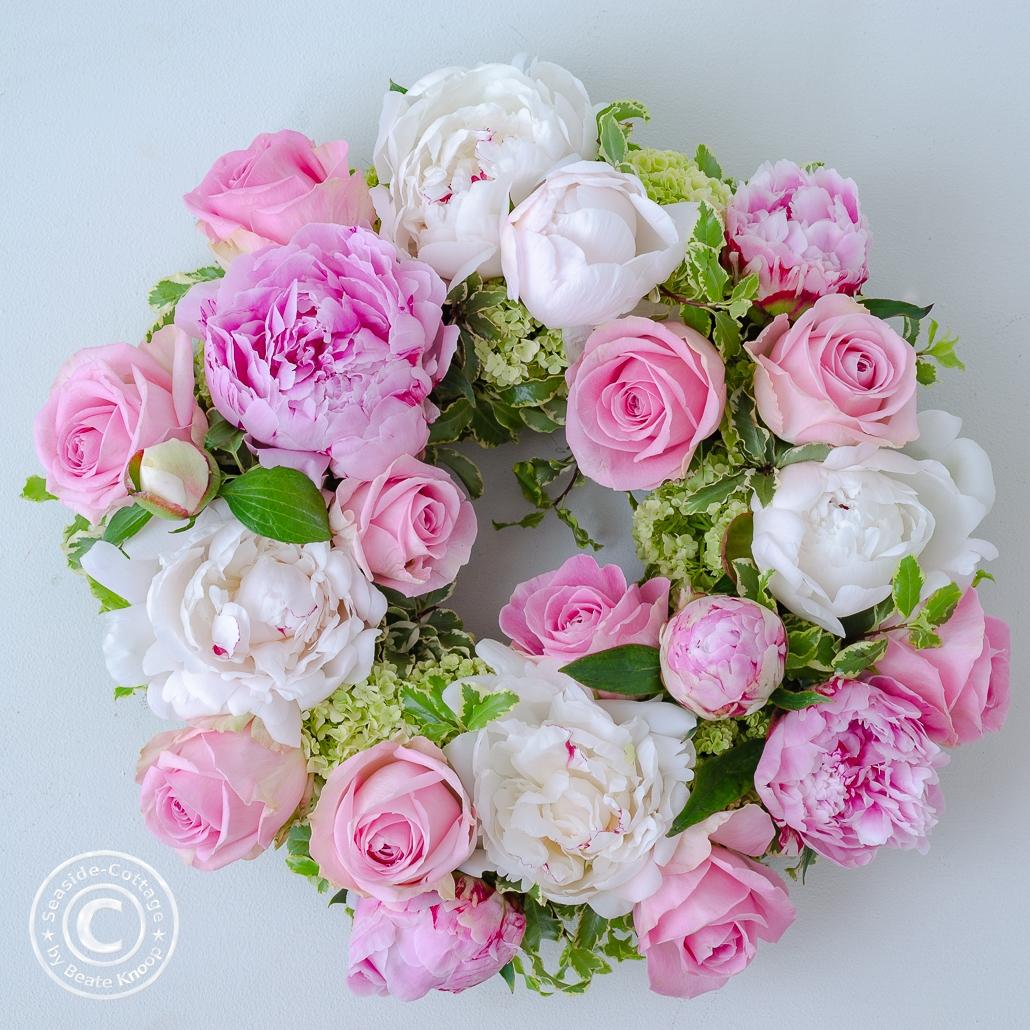 Anleitung Blumenkranz zum Muttertag