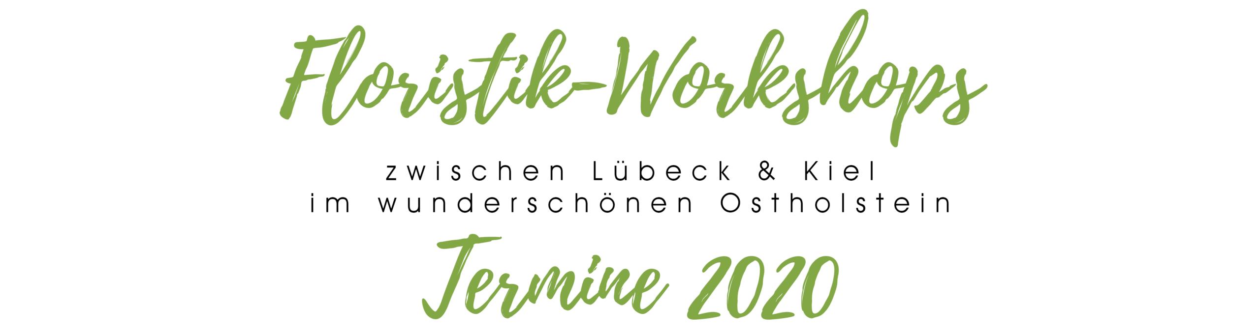 Floristik Workshops in Ostholstein