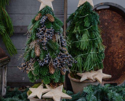 DIY gesteckter Tannenbaum