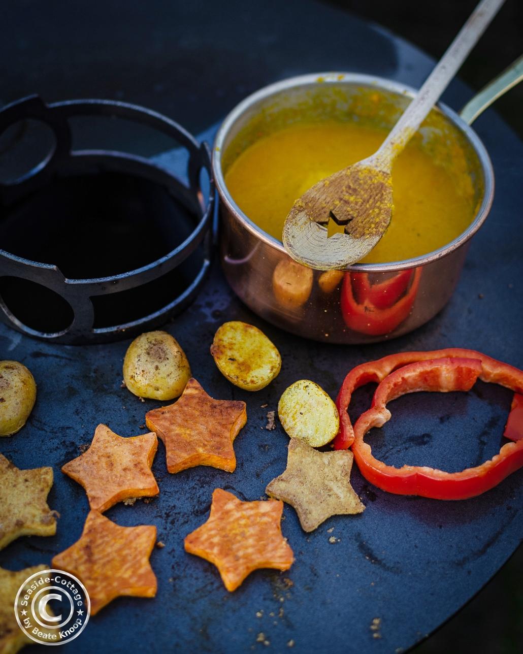 Rezept Süßkartoffel-Möhren-Suppe