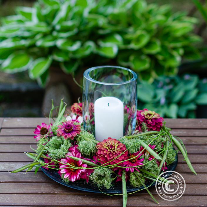 Umweltfreundliche Blumengestecke mit dem plastikfreiem Steckziegel Sideau®