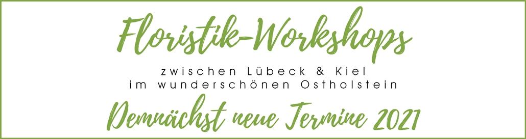 Floristik-Workshops in Ostholstein Header