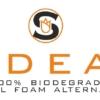 Sideau umweltfreundlicher Blumen-Steckziegel Logo